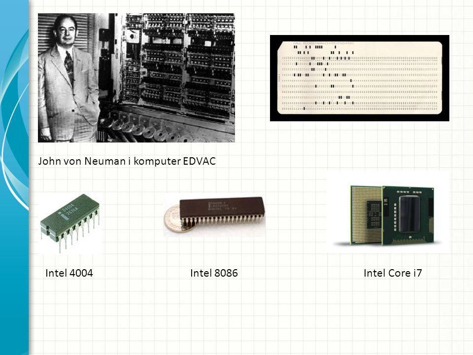 John von Neuman i komputer EDVAC