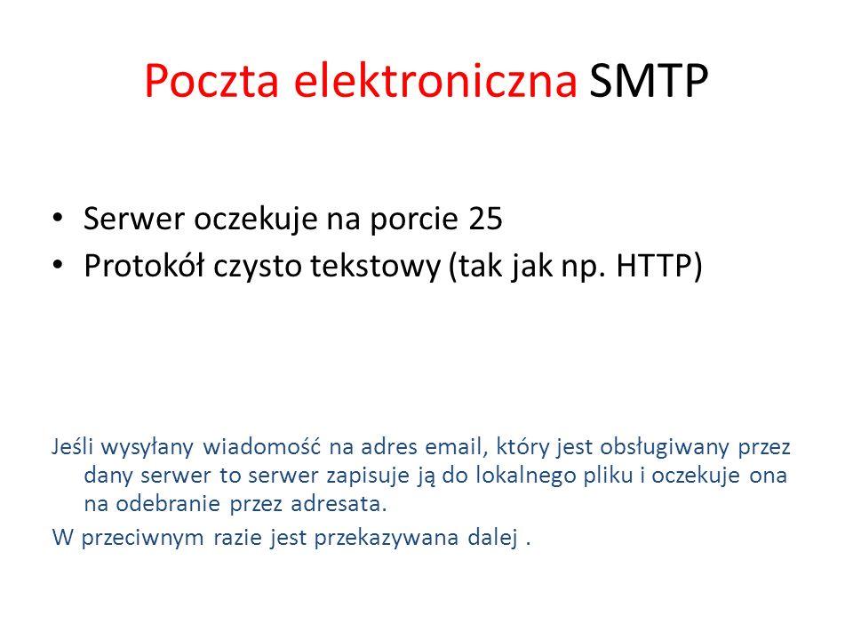 Poczta elektroniczna SMTP