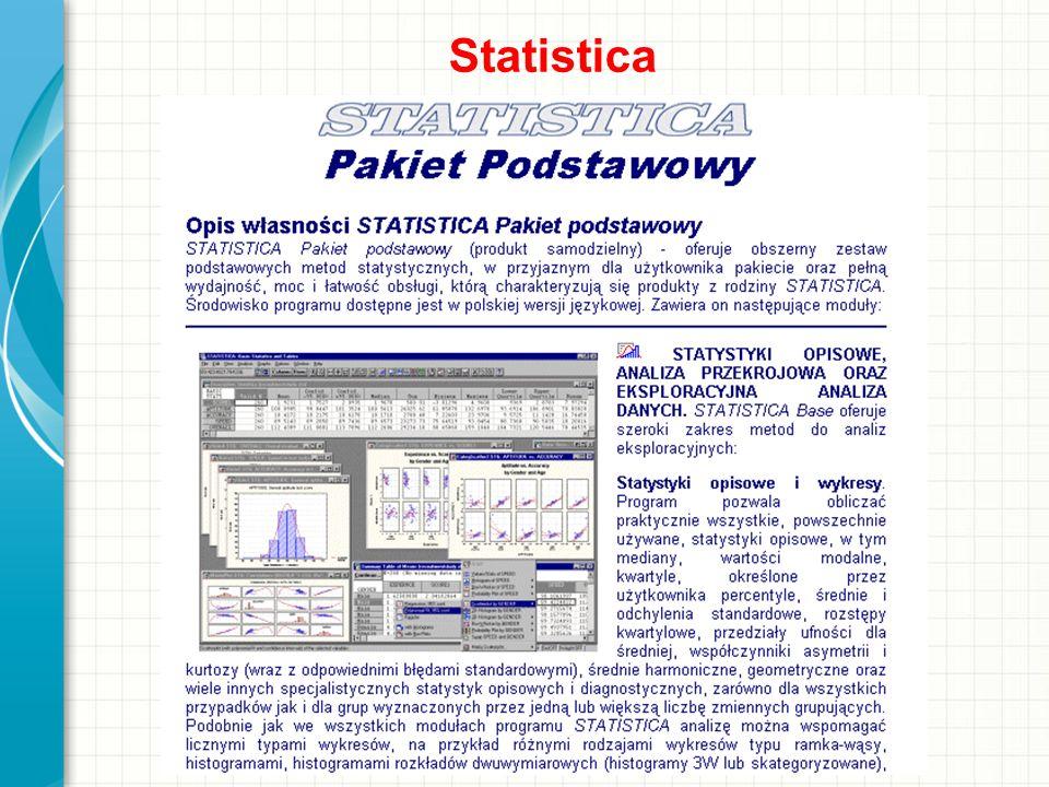 Statistica Omów krótko prezentację. Przedstaw najważniejszy element i wyjaśnij, dlaczego jest on istotny.