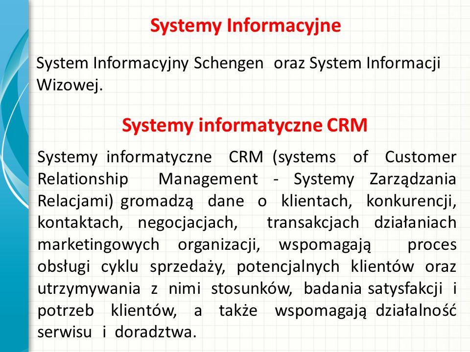 Systemy informatyczne CRM