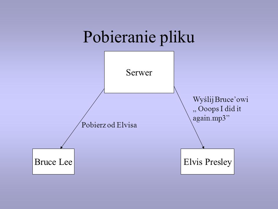 Pobieranie pliku Serwer Bruce Lee Elvis Presley