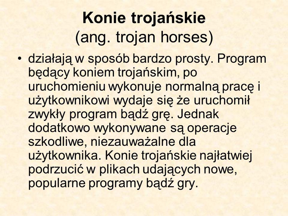 Konie trojańskie (ang. trojan horses)