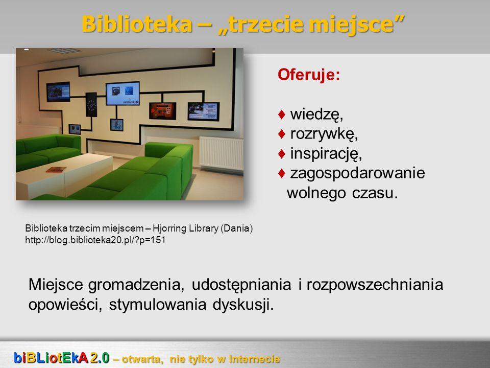 """Biblioteka – """"trzecie miejsce"""
