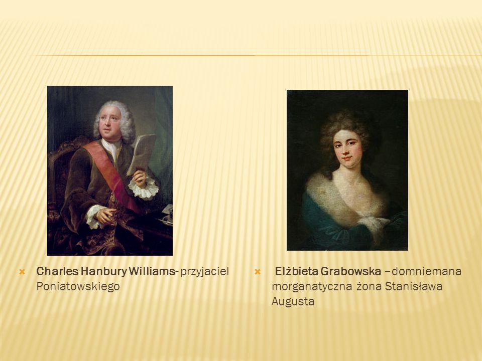 Charles Hanbury Williams- przyjaciel Poniatowskiego