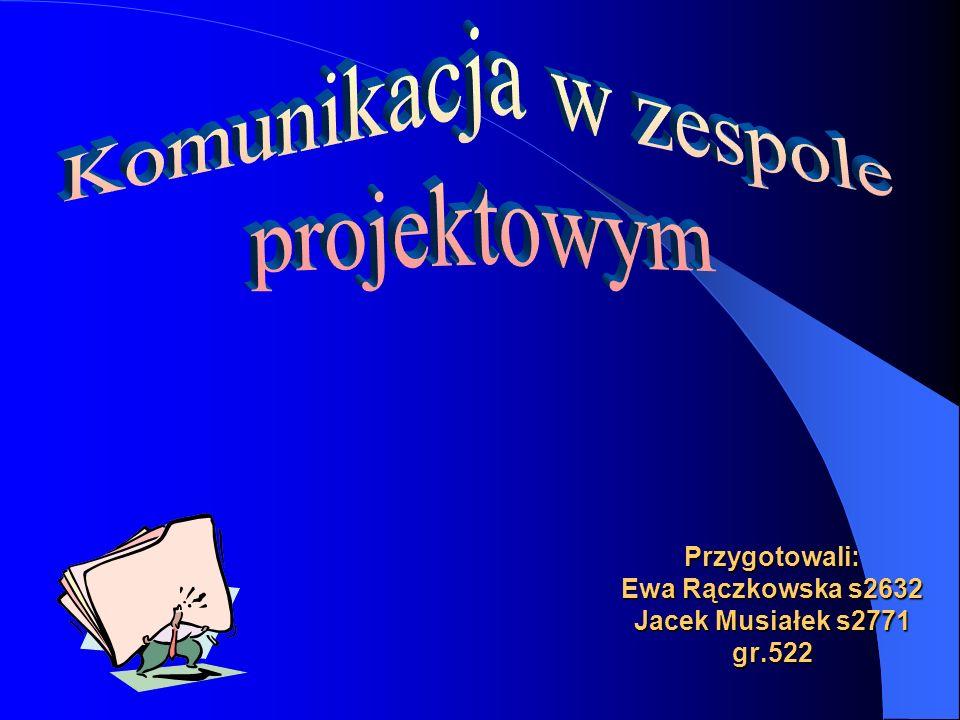 Przygotowali: Ewa Rączkowska s2632 Jacek Musiałek s2771 gr.522