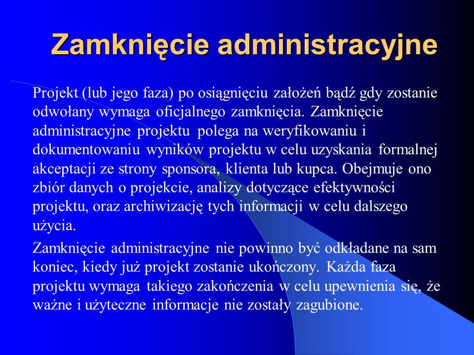 Zamknięcie administracyjne