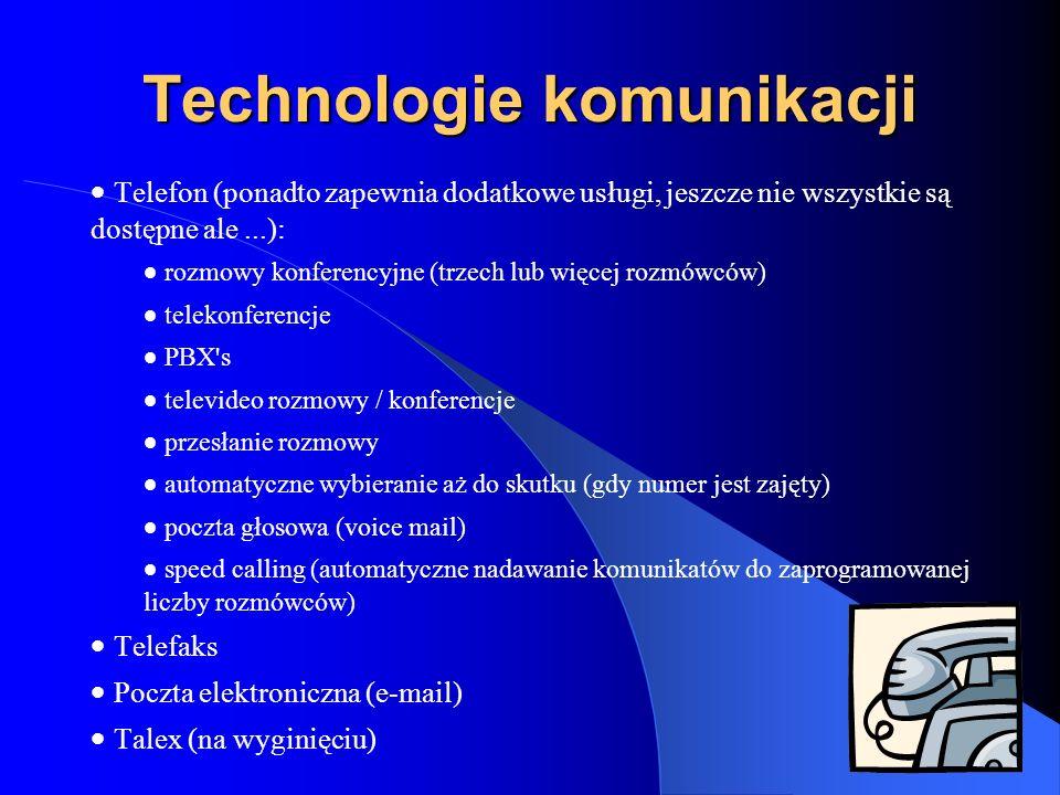 Technologie komunikacji