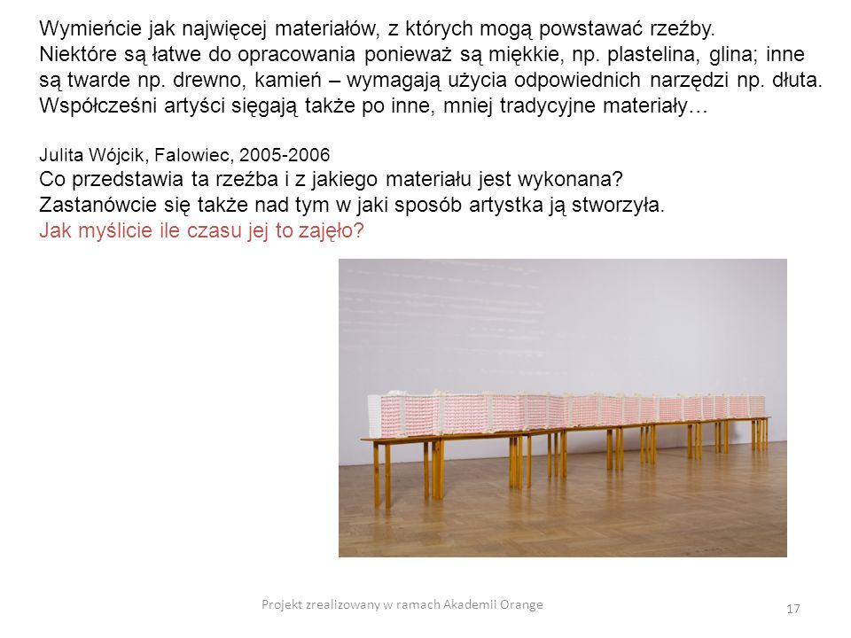 Projekt zrealizowany w ramach Akademii Orange