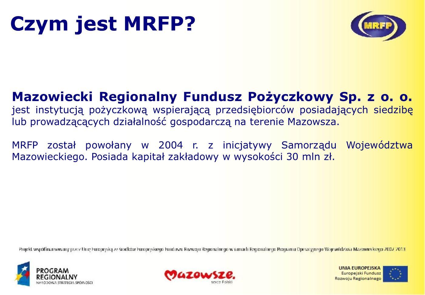 Czym jest MRFP