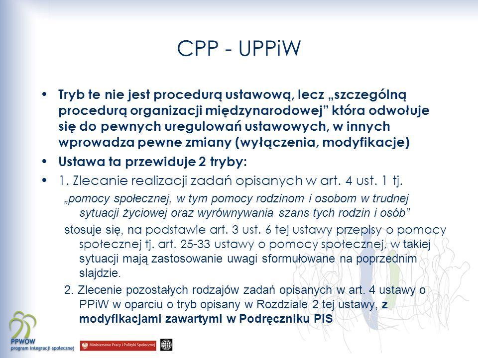 CPP - UPPiW