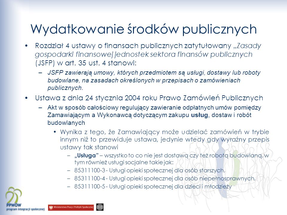 Wydatkowanie środków publicznych