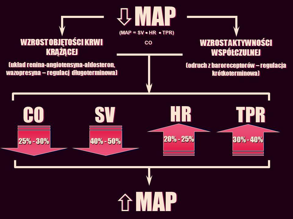 MAP MAP CO SV HR TPR WZROST OBJĘTOŚCI KRWI KRĄŻĄCEJ
