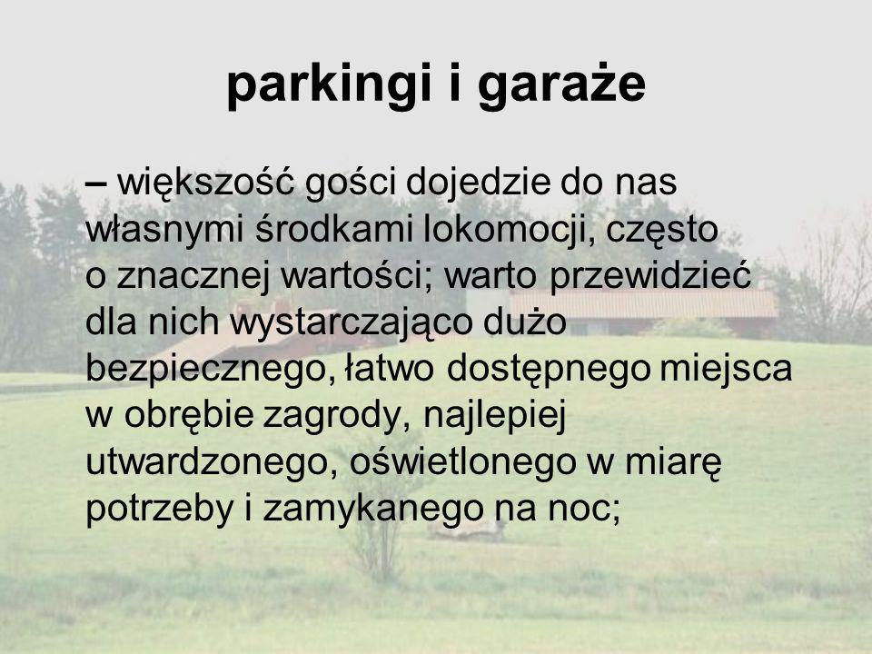parkingi i garaże