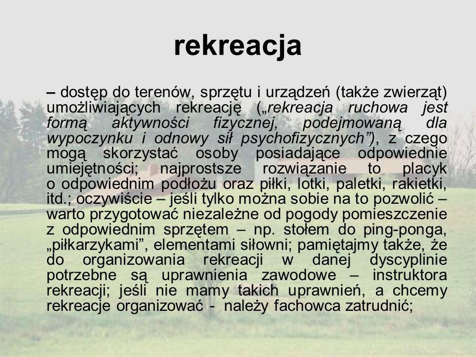 rekreacja