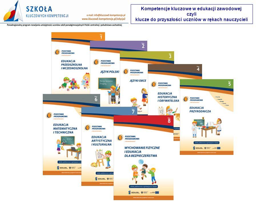 Kompetencje kluczowe w edukacji zawodowej czyli
