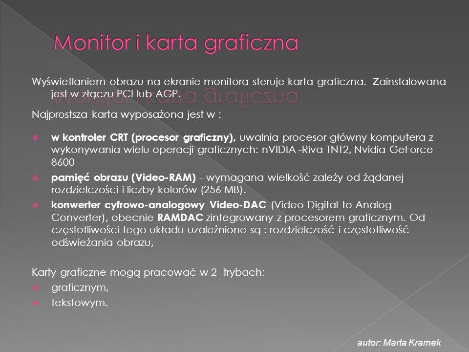 Monitor i karta graficzna
