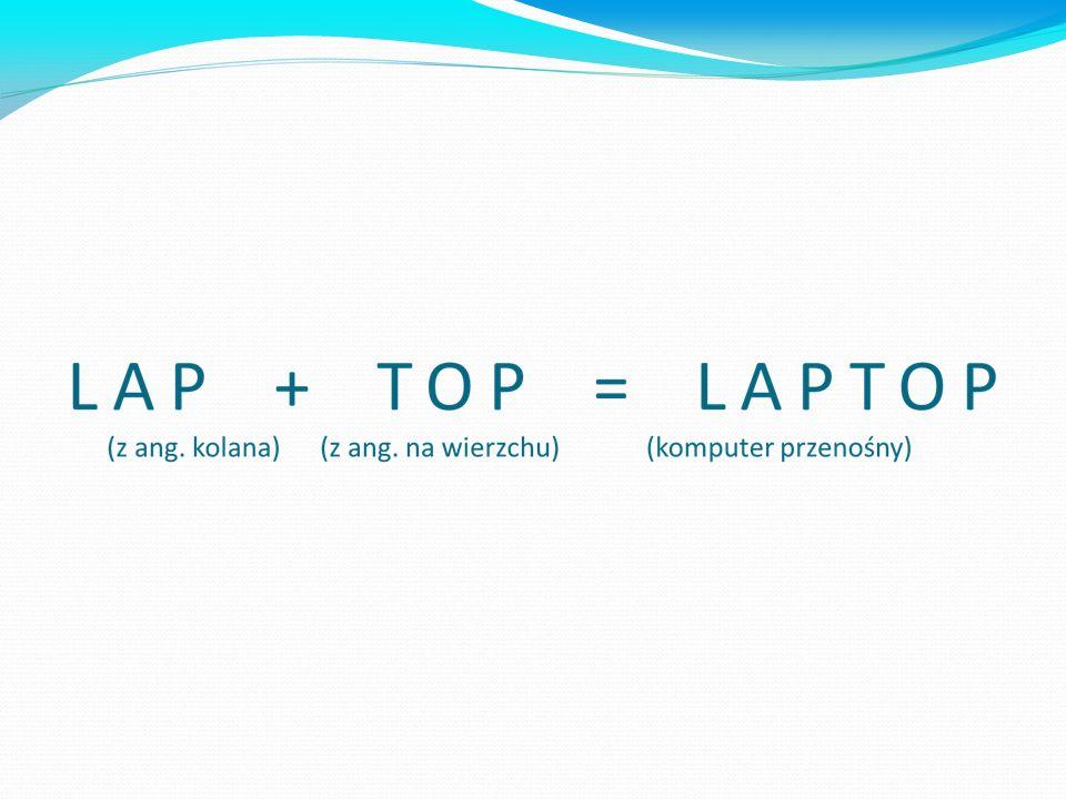 Na przykład słowo laptop pochodzi z języka angielskiego, a poprzez połączenie dwóch słów powstało trzecie, całkiem odmienne.