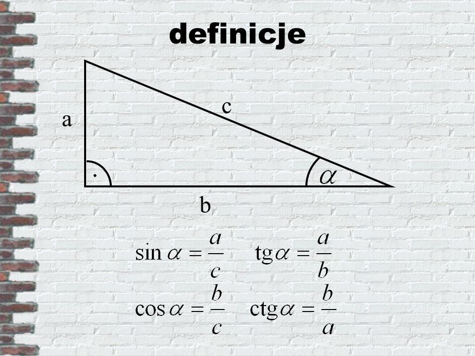 definicje a b c