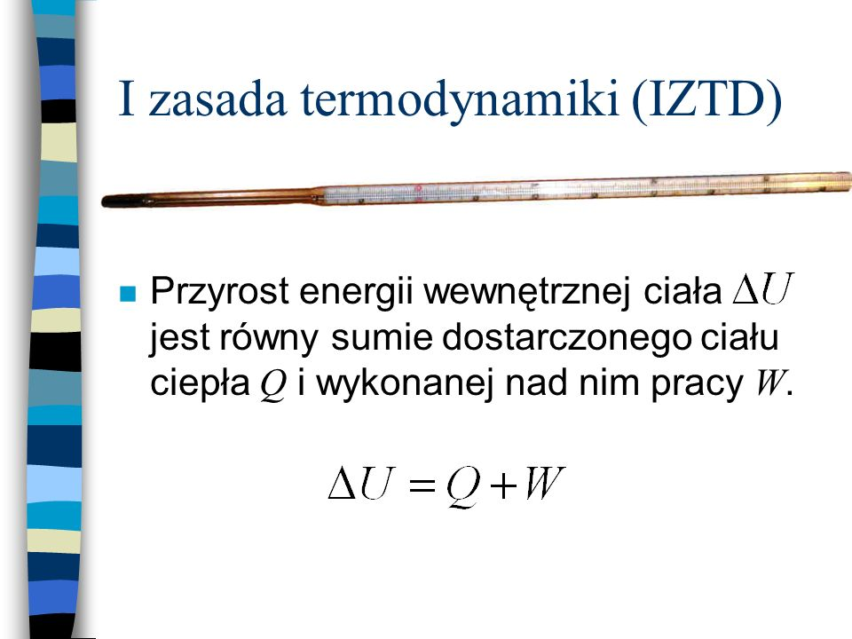 I zasada termodynamiki (IZTD)