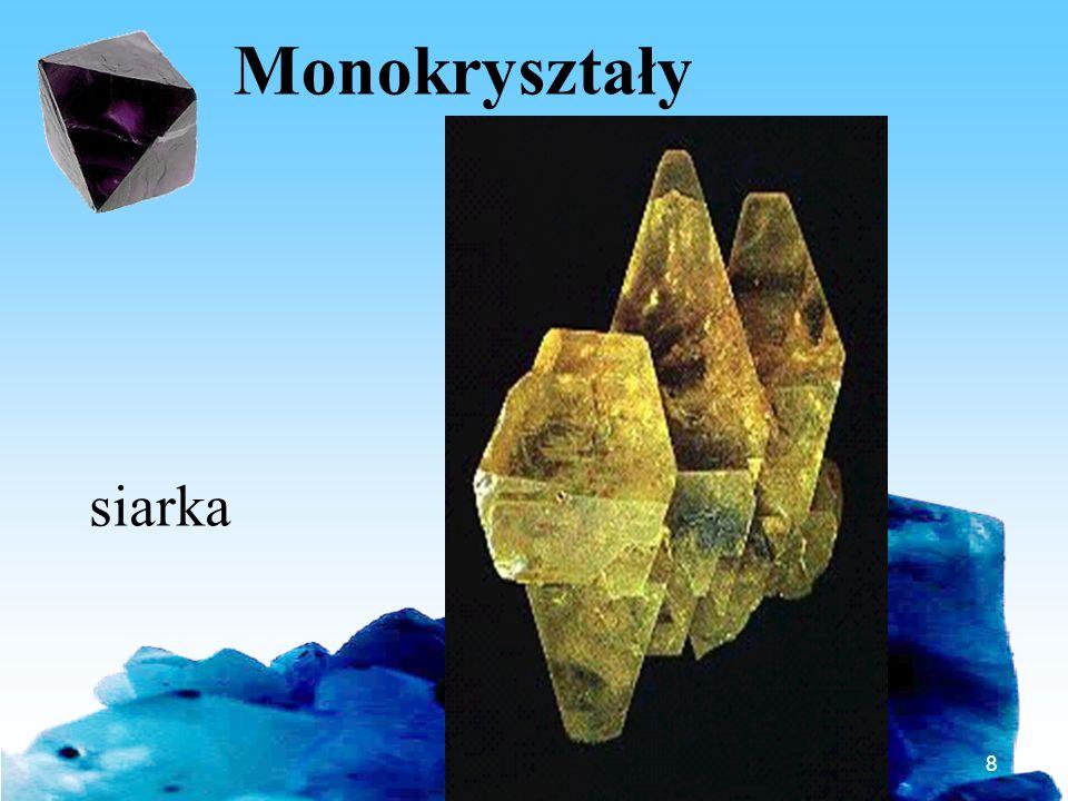 Monokryształy siarka Bartosz Jabłonecki