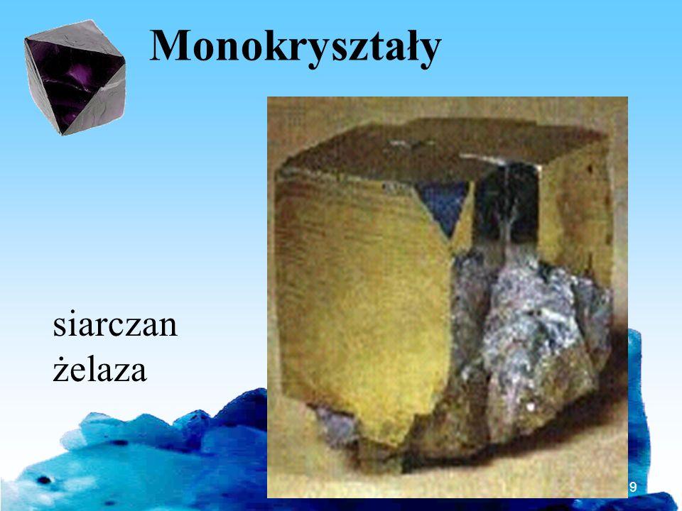 Monokryształy siarczan żelaza Bartosz Jabłonecki