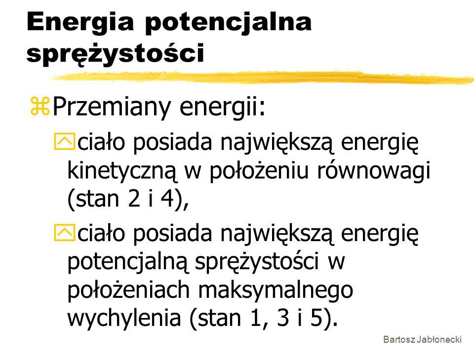 Energia potencjalna sprężystości