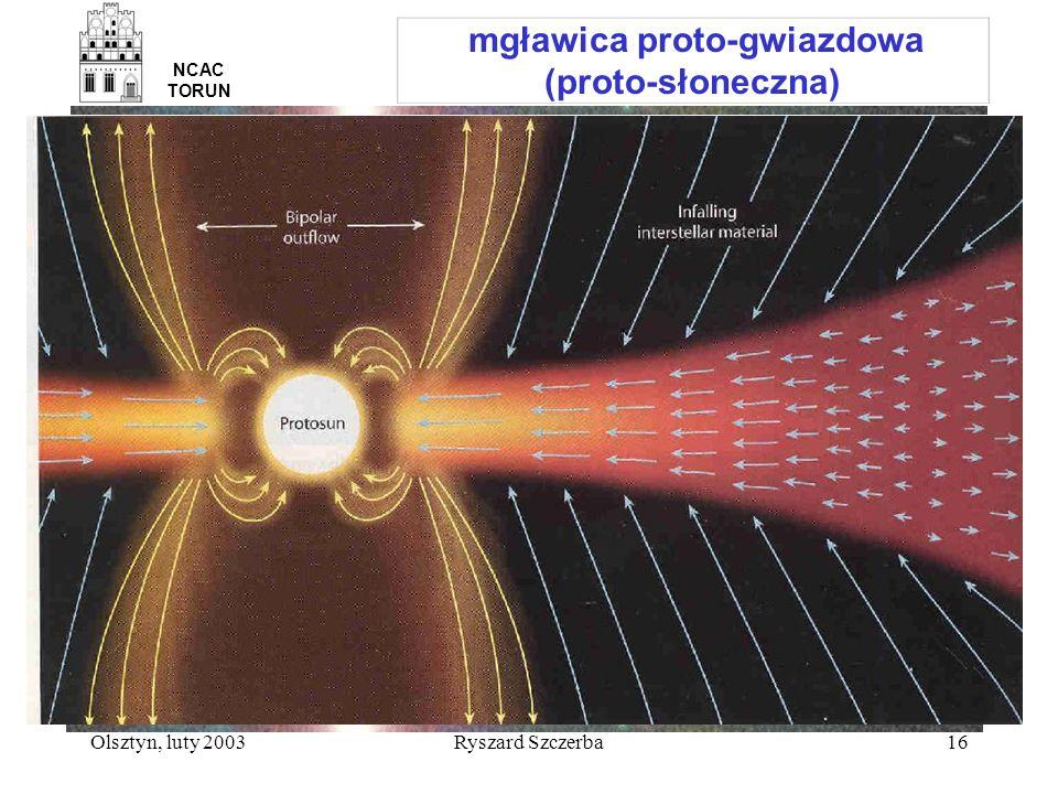 mgławica proto-gwiazdowa (proto-słoneczna)