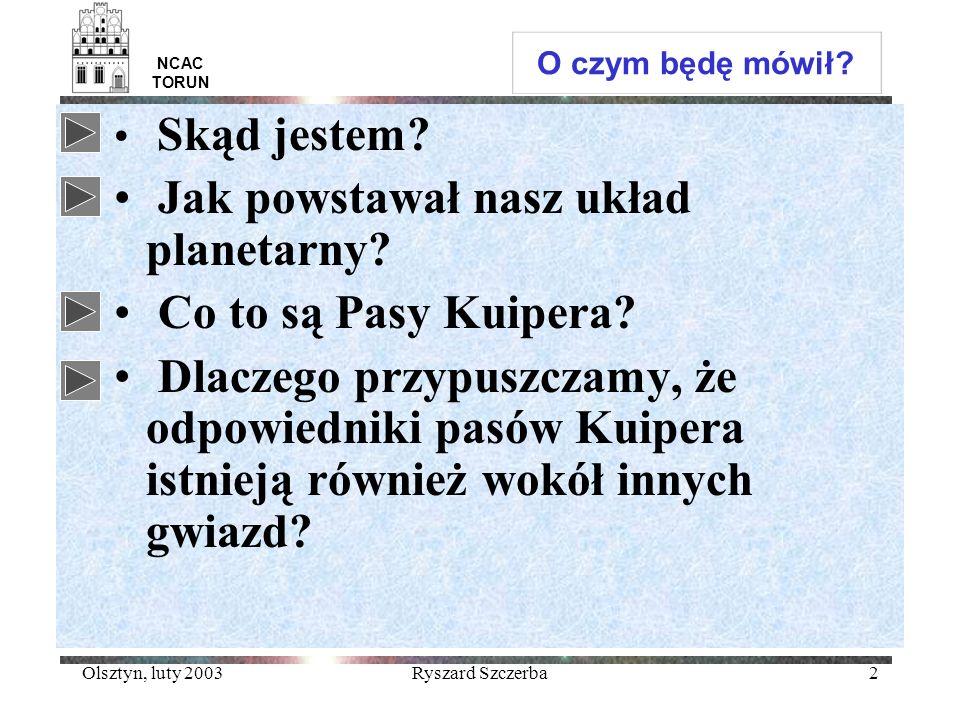 Jak powstawał nasz układ planetarny Co to są Pasy Kuipera