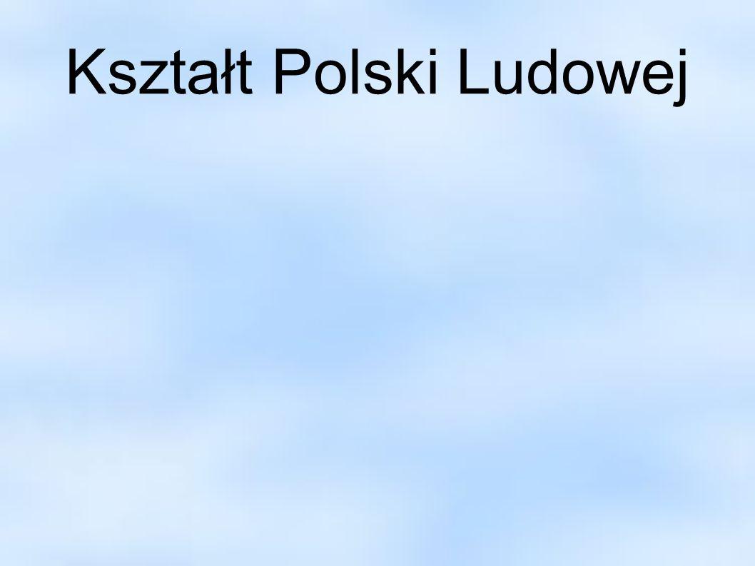 Kształt Polski Ludowej