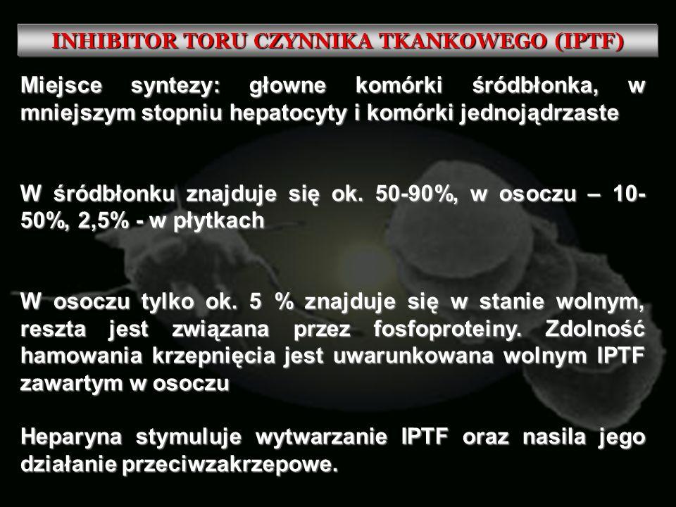 INHIBITOR TORU CZYNNIKA TKANKOWEGO (IPTF)