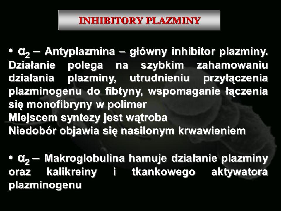 INHIBITORY PLAZMINY