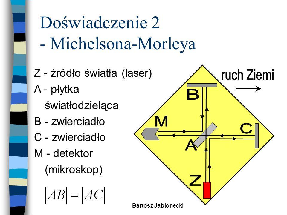 Doświadczenie 2 - Michelsona-Morleya