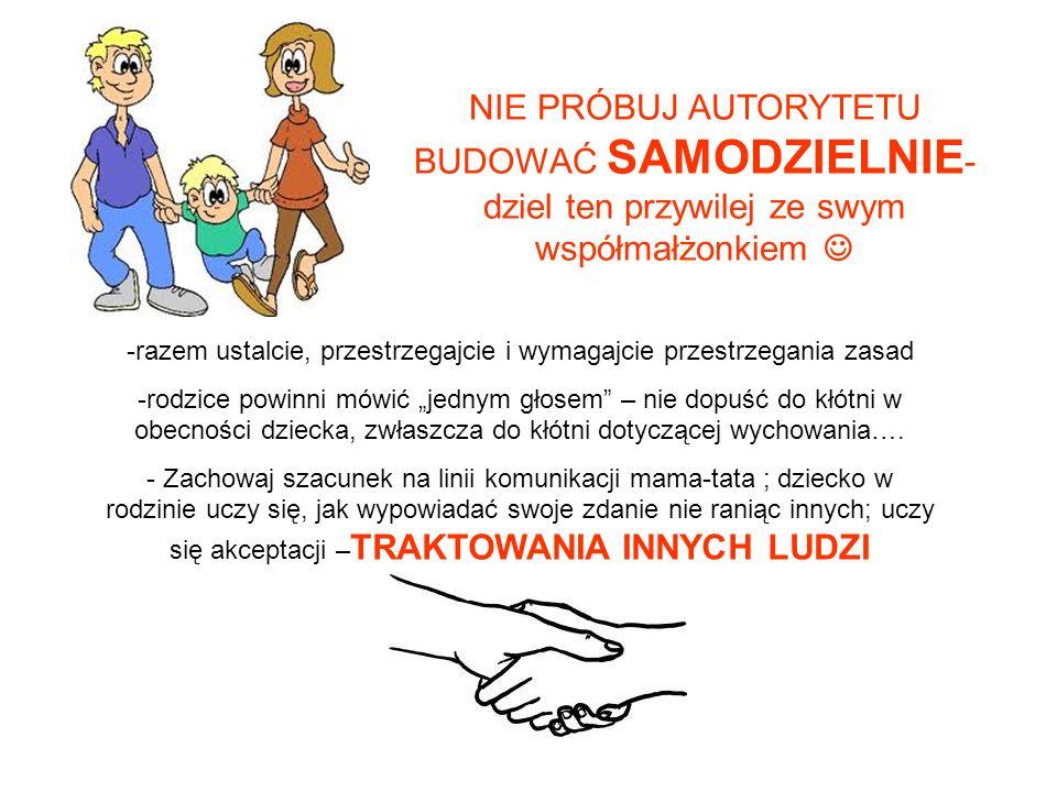 -razem ustalcie, przestrzegajcie i wymagajcie przestrzegania zasad