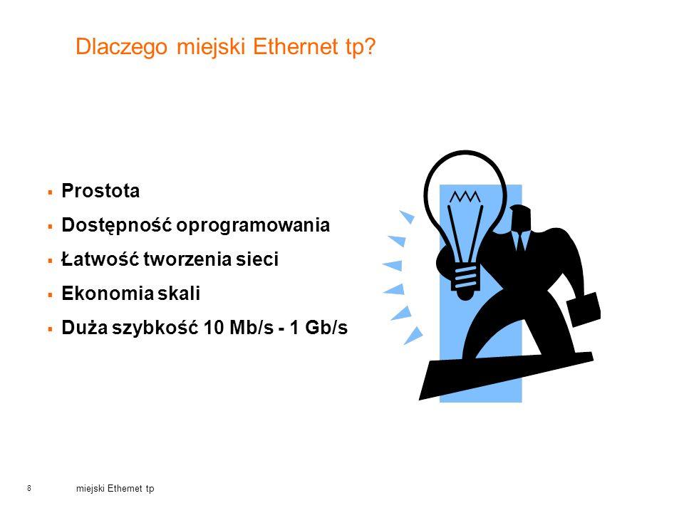 Dlaczego miejski Ethernet tp