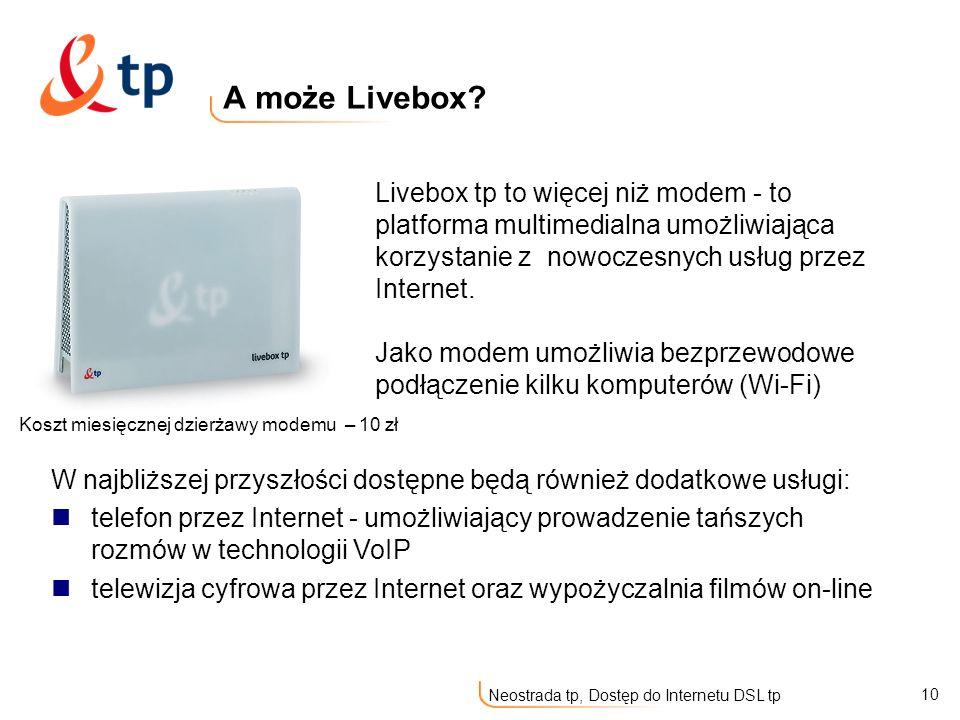 A może Livebox
