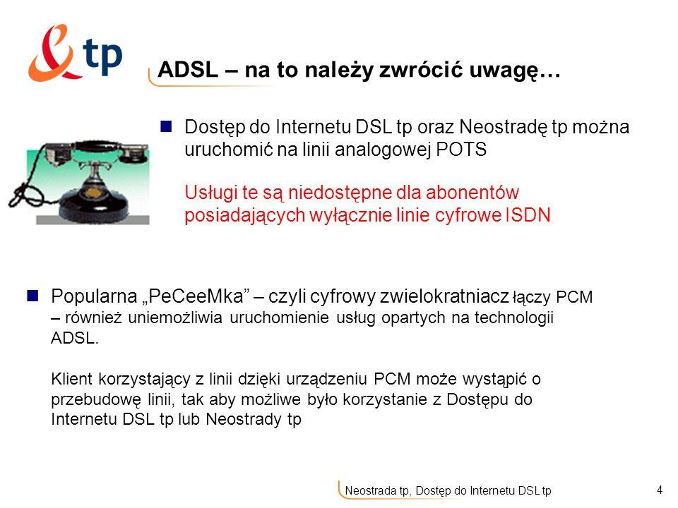 ADSL – na to należy zwrócić uwagę…