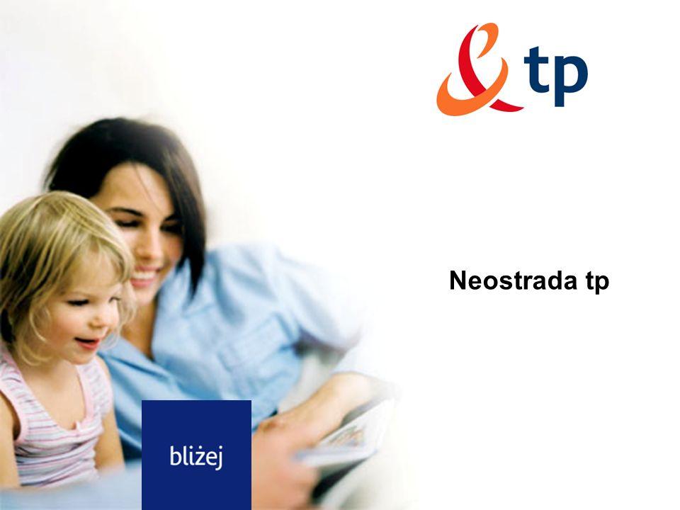 Rozdział Neostrada tp Neostrada tp, Dostęp do Internetu DSL tp