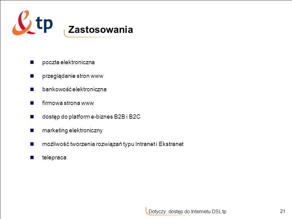 Zastosowania poczta elektroniczna przeglądanie stron www