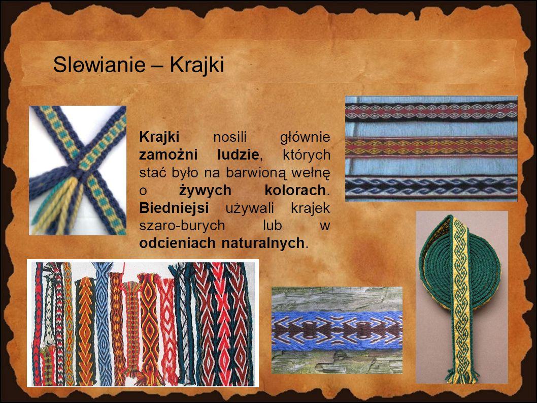 Slowianie – Krajki