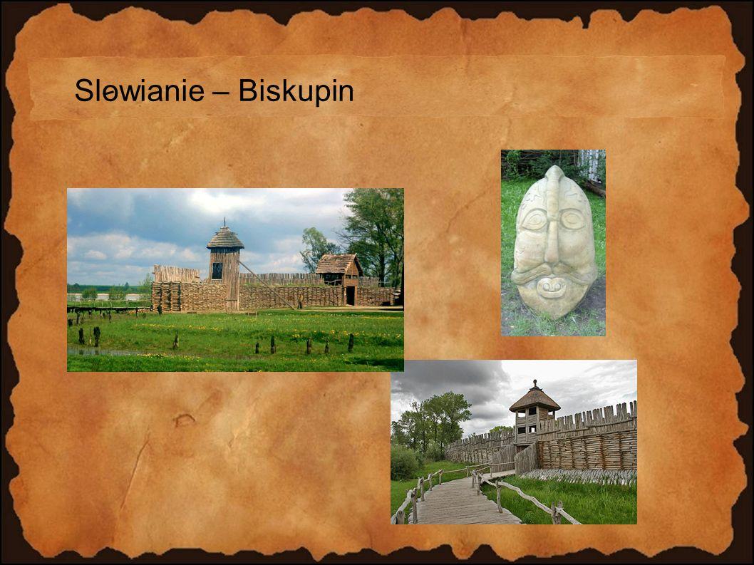 Slowianie – Biskupin