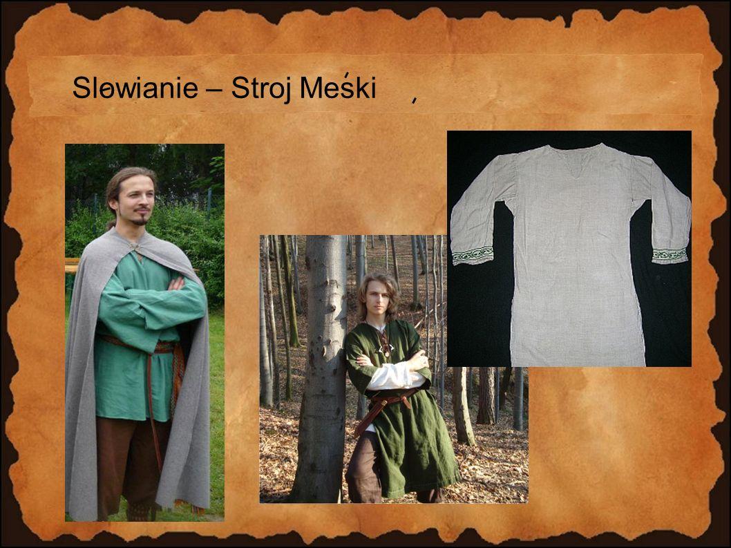 Slowianie – Stroj Meski