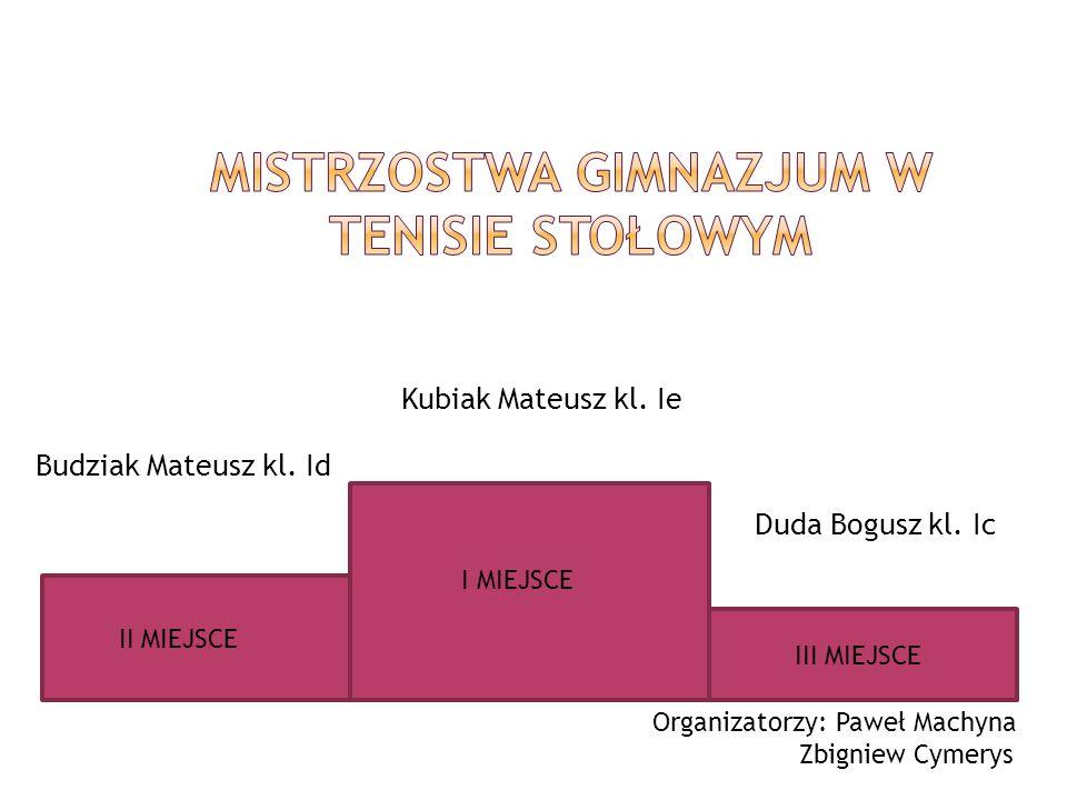 Mistrzostwa Gimnazjum w Tenisie Stołowym