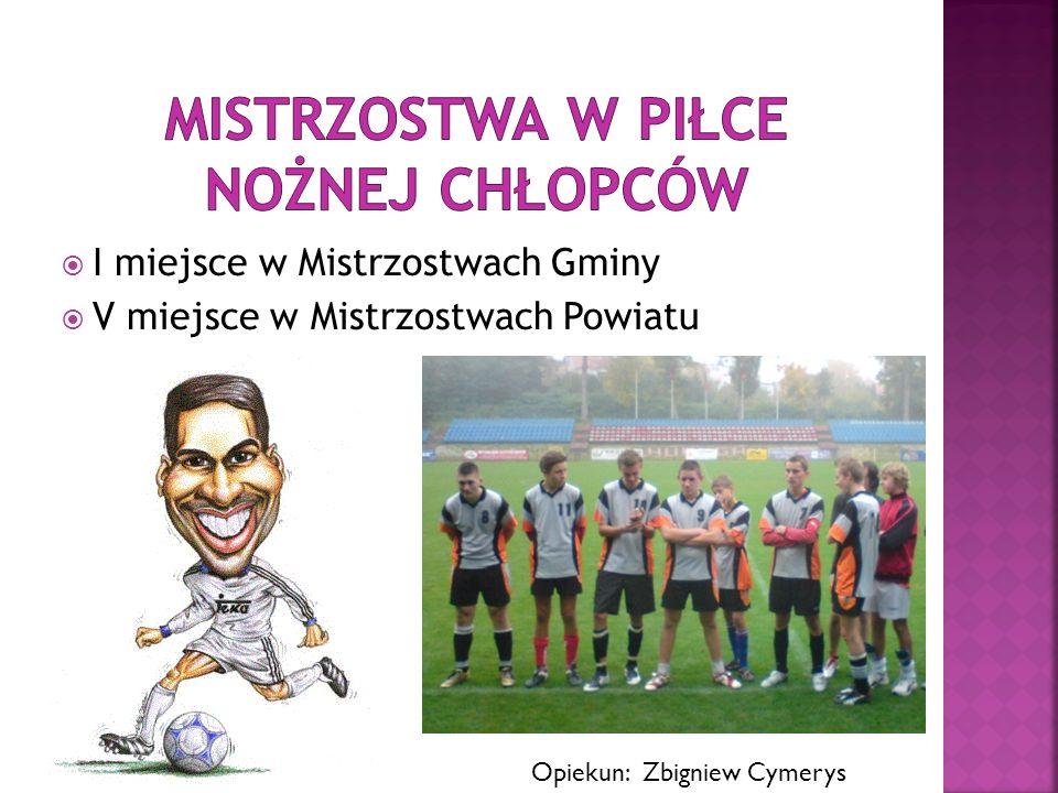 Mistrzostwa w Piłce Nożnej chłopców