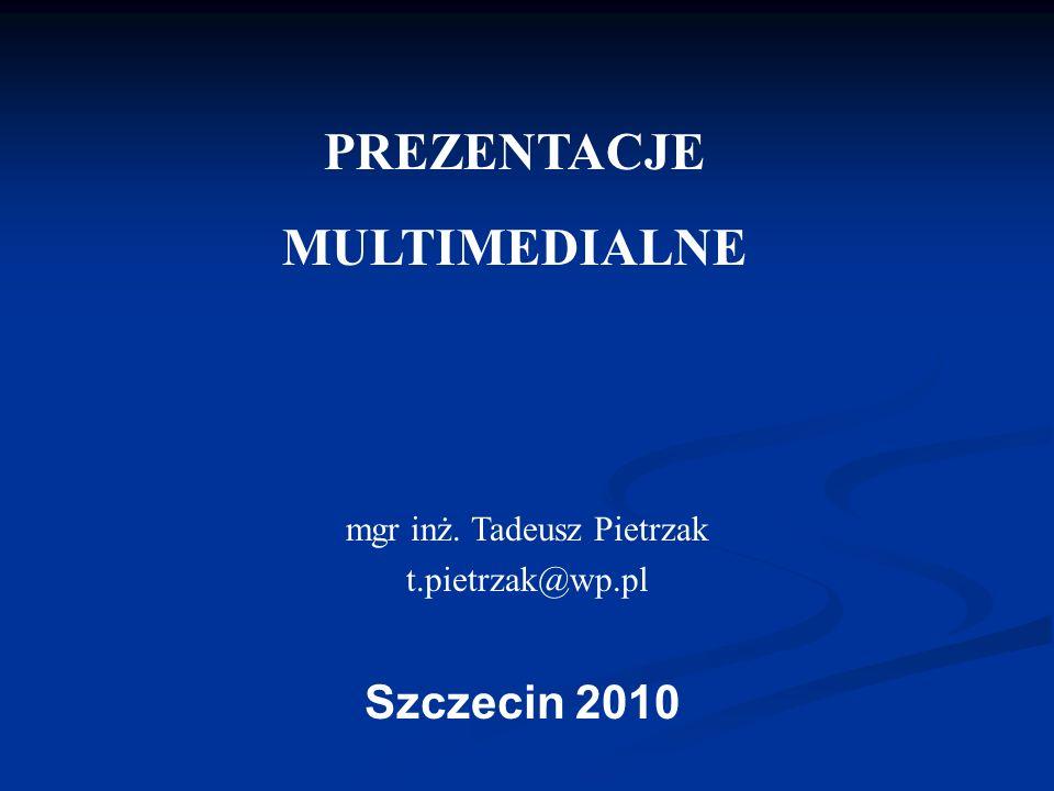 mgr inż. Tadeusz Pietrzak