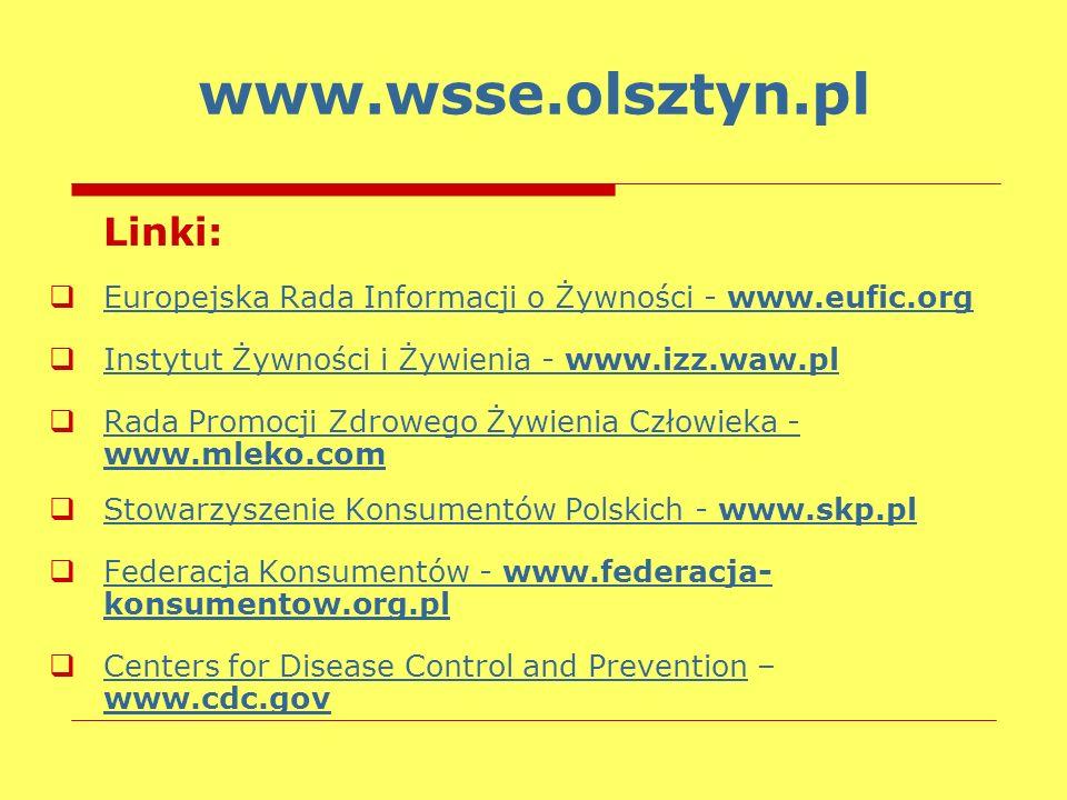 www.wsse.olsztyn.pl Linki:
