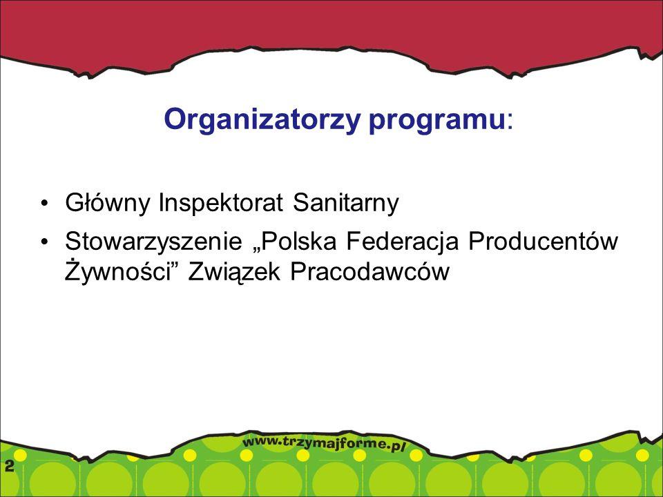 Organizatorzy programu: