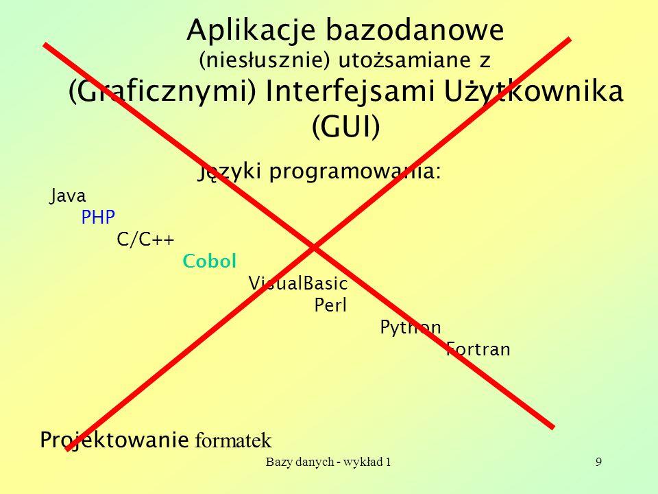 Języki programowania:
