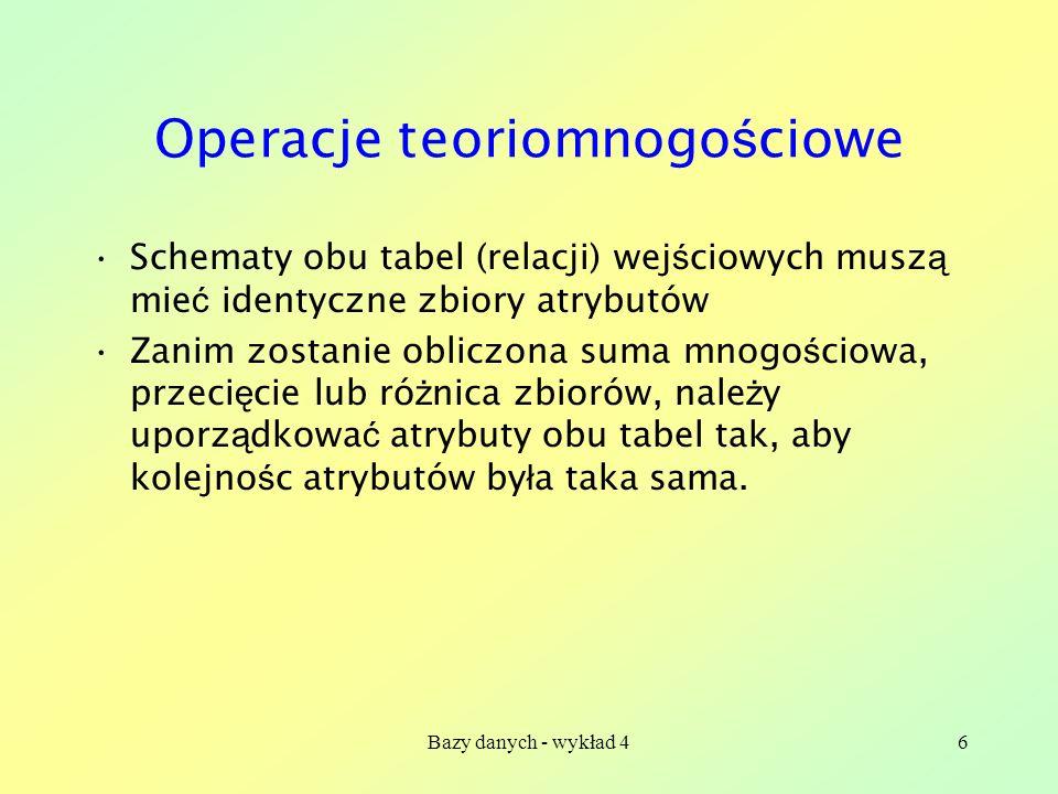 Operacje teoriomnogościowe