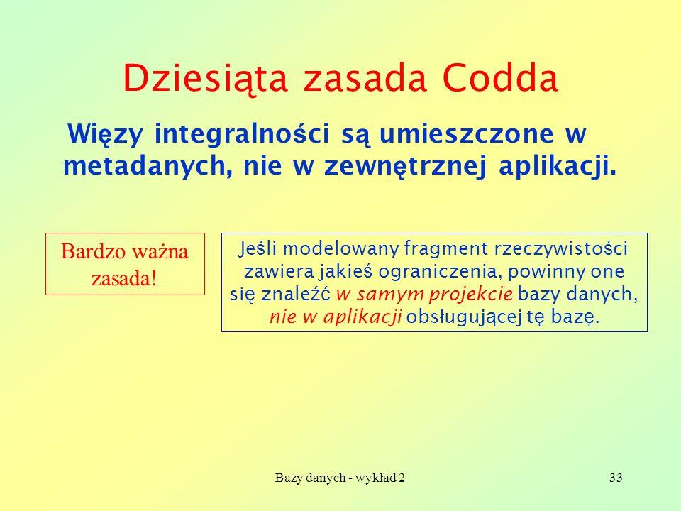 Dziesiąta zasada Codda
