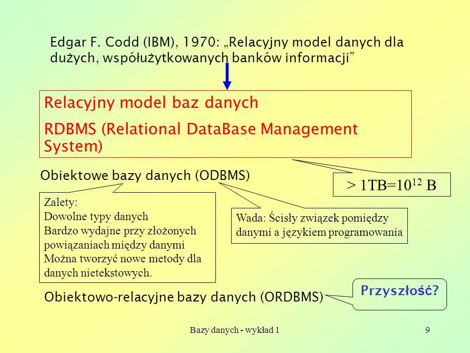 Relacyjny model baz danych